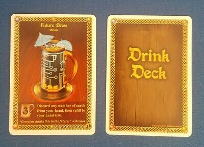 Red Dragon Inn Future Brew Promo Card Never Played