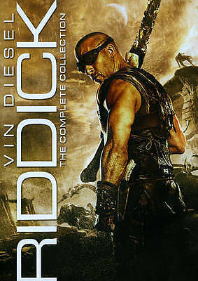 Riddick: The Complete Collection New DVD! Ships Fast!