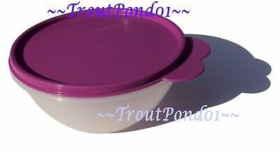 New TUPPERWARE Classic Wonderlier Nesting Mixing Bowl 3 C Small Berry Purple