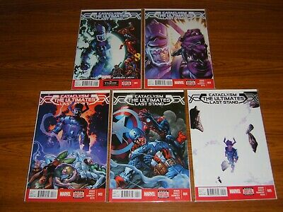 Cataclysm: The Ultimates Last Stand #1 - 5 Set (Marvel) 2014 (5 Issues)
