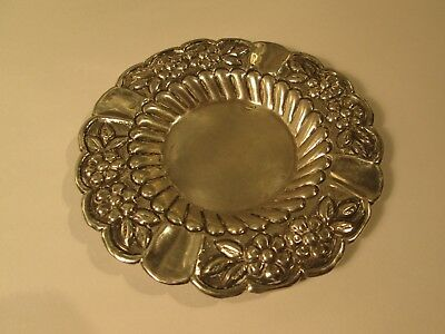 Lebanese silver ashtray hallmarked HABIS 900