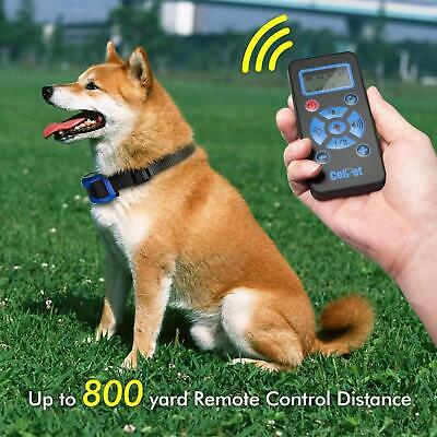 Dog Shock Training E Collar With Remote Coach Electric Trainer Small Large 800 m