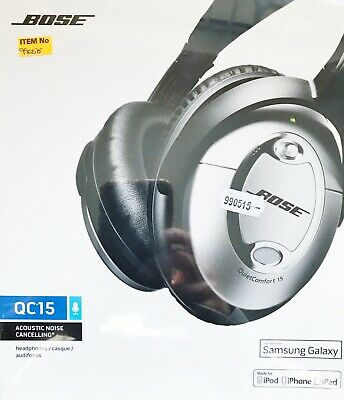 Bose ® QuietComfort ® 15 Acoustic Noise Cancelling Headphones - Black/Silver