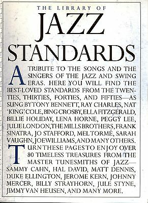 THE LIBRARY OF Jazz Piano Sheet Music Piano Solo SongBook