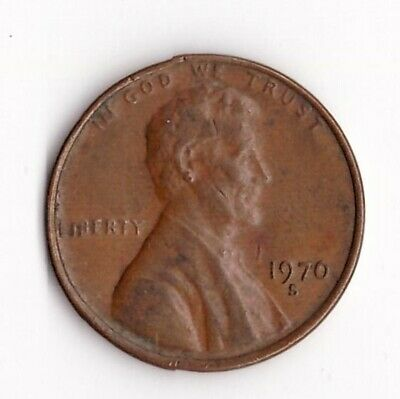 1970 S Lincoln Memorial Cent Penny  **Notice the 7 in the date**