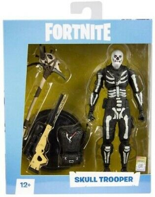"""IN STOCK Mcfarlane Fortnite 7"""" Collectible Action Figure - Skull Trooper NEW"""