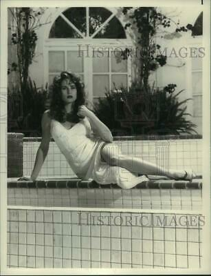 "1990 Press Photo Actress Nicollette Sheridan stars in ""Knots Landing"""