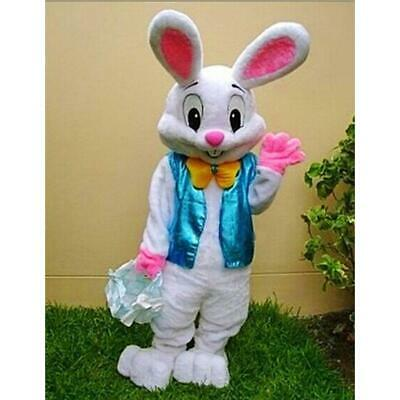 E25 Easter Bunny Business Advertising Adult Animal Mascot Costume Cosplay Suit