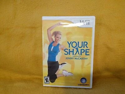 Your Shape: Featuring Jenny McCarthy (Nintendo Wii, 2009) Game Only, New