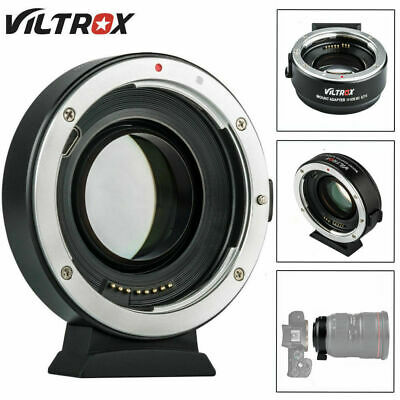 Viltrox EF-EOS M2 Auto Focus Lens Mount Adapter 0.71X for Canon EF Lens to EOS S