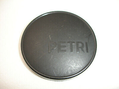 PETRI plastic front lens cap 54mm size for lens with 52mm filter thread SLIP ON