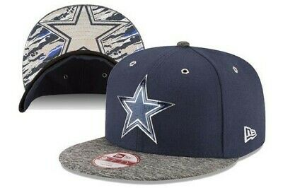 46dbb23ae3f Official 2016 NFL Draft On Stage Dallas Cowboys New Era 59FIFTY Fitted Hat  7 5