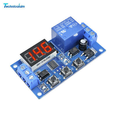 24V Digital LED Trigger Delay Time Cycle Timer Control Switch Relay Module