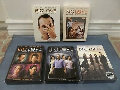 Big Love The Complete Hbo Series Dvd 1-5 Season 1 2 3 4 5 Box Set Lot