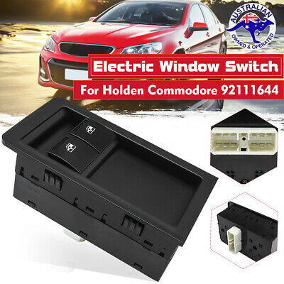 Power Master Window Switch For Holden Commodore VY VZ SS UTE Black 92111644 New