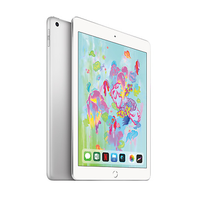 "Apple iPad 9,7"" 2018 Wi-Fi 128 GB Silber (MR7K2FD/A)"