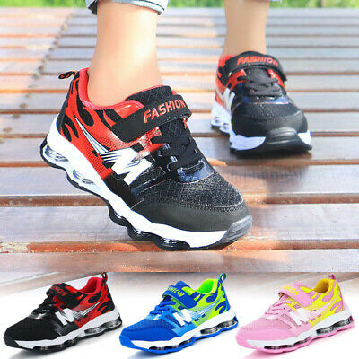 Kids Boys Girls Shoes Child Running Sport Student School Casual Trainers Shoes