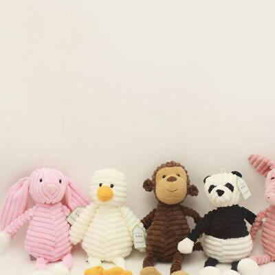 Newborn Baby Plush Doll Toy Soft Stuffed Animal Kids Favor Birthday Gifts LC