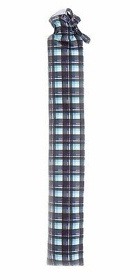 Warmies Extra Long Hot Water Bottle With Red Tartan Cover 80cm PVC Quick & Easy