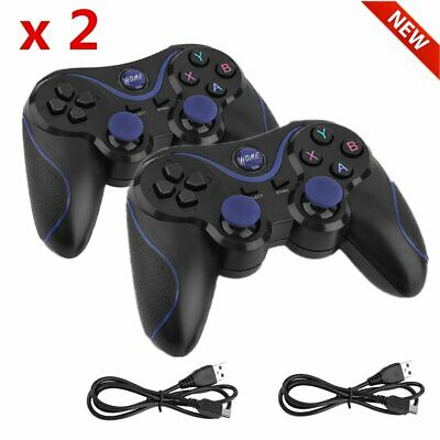 2 Stk 2,4 G Bluetooth Wireless Controller Gamepad Android iPhone PC/Play Station