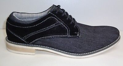 aa17bff8a4e STEVE MADDEN SIZE 11 SOJOURN Gray Suede Textile Lace Up Oxfords New ...