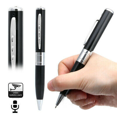 Black USB HD Spy Hidden Camera Pen Recorder Security DVR Cam Camcorder with Mic