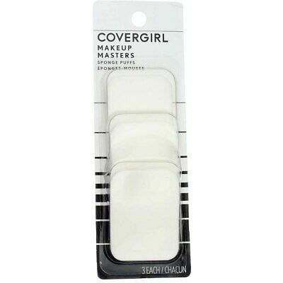 CoverGirl Makeup Masters Sponge Puffs, 3 Ct