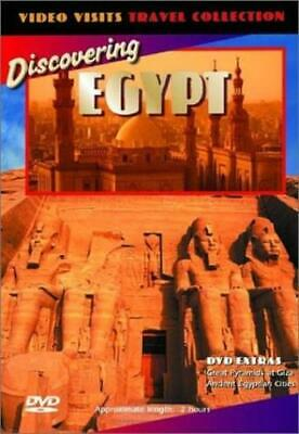Video Visits: Discovering Egypt (DVD, 2001) NEW