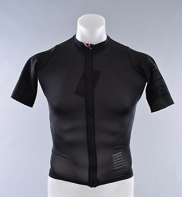 NEW Rapha Pro Team Aero Jersey Men s Small Black Short Sleeve Cycling Bike 8e01daf25