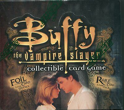 Buffy the Vampire Slayer CCG Angels Curse Unlimited Sealed Trading Card Box