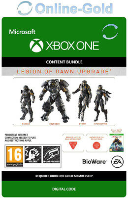 Anthem Legion of Dawn Upgrade - Xbox One - Spiel Digital Code RPG Addon - DE/EU