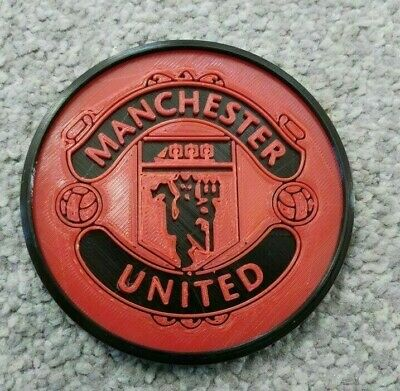 Manchester United FC Man Utd Drinks Coaster Coffee Tea Cup Mug