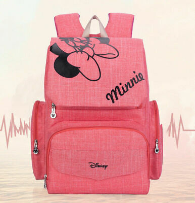 DISNEY Mickey Minnie Baby Maternal Stroller Maternity Nappy Bag Backpack 2019