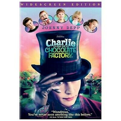 SEALED NEW Charlie and the Chocolate Factory DVD Movie Johnny Depp comedy 2005
