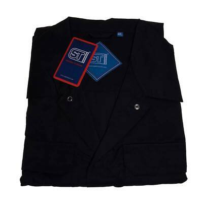 Polycotton Coverall Navy 4XL Regular Leg Chest 148cm-152cm - Supertouch 51907