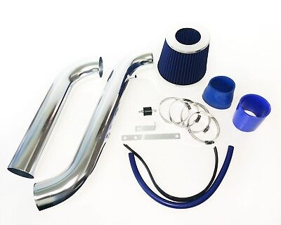 BLUE For 1994-2002 Honda Accord 2.2L 2.3L L4 Cold Air Intake System Kit + Filter