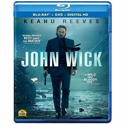 John Wick: Blu-ray + DVD + Digital HD [ Keanu Reeves ] New, 2015, 2-Disc Set