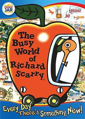 BRAND NEW DVD The Busy World of Richard Scarry: Every Day There's Something New!