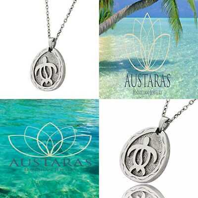 Hawaiian Jewelry By Austaras Honu Sea Turtle Pendant Good Luck & Protection Ever