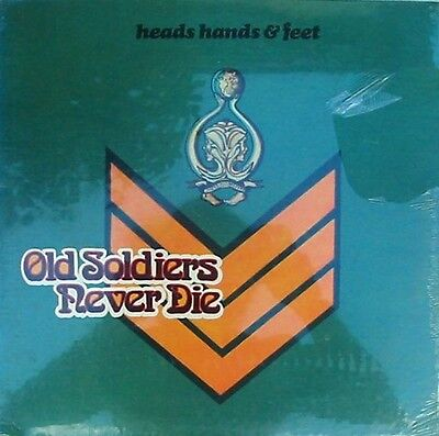 Heads Hands & Feet Sealed US LP Old soldiers never die '73 Albert Lee Blues Rock