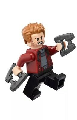 LEGO Marvel Super Heroes Star Lord MINIFIG from Lego set #76107 Brand New
