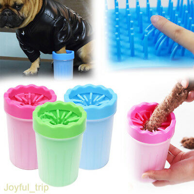 Pet Paw Plunger Mud Cleaner Washer Mudbuster Dog Cat Pet Paw Cleaner Portable UK