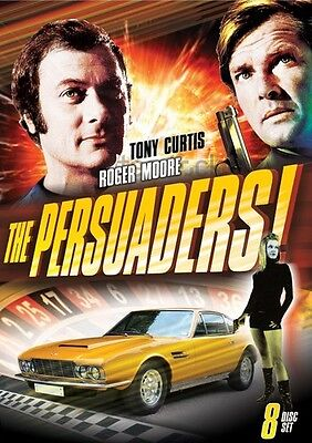 Persuaders: Complete Series - 8 DISC SET (2015, DVD New)