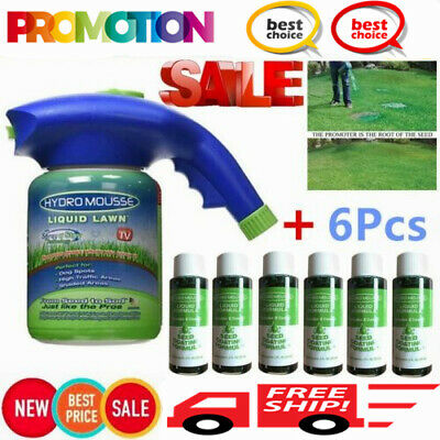 Hydro Mousse Liquid Lawn Grass Growth Garden Sprayer Bottle As Seen On TV IH
