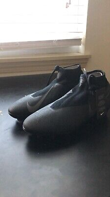 a90c622e21c7 *NEW* Nike Phantom Vision Elite Dynamic Fit FG Soccer Cleats Size 10 All  Black
