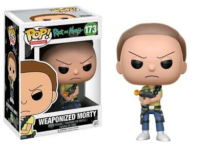 Pop! Vinyl--Rick & Morty - Morty Weaponized Pop!