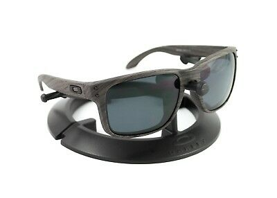 98a16d3d4c Oakley Holbrook Woodgrain Frame   Revant Stealth Black Polarized Custom  Lenses