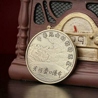Chinese Mother River Yellow River Bronze Coin Silver Coin Commemorative Coin New