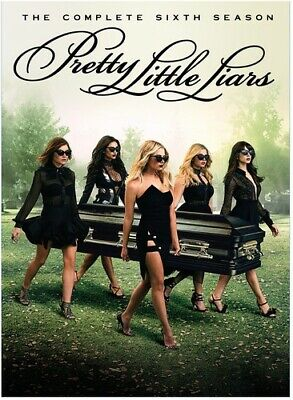 Pretty Little Liars: The Complete Sixth Season - 5 DISC SET (2016, DVD New)
