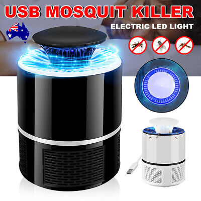 Electric Bulb Insect Killer Anti Mosquito Pest Bugs Repellent Repeller USB Lamp